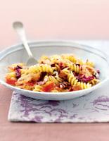 Radicchio, Speck & Onion Fusilli