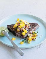 Blackened Tuna with Mango Salsa