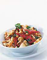 Chickpea & Vegetable Salad
