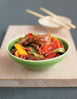 Thai Beef with Peppers & Chilli