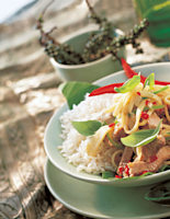 Pork with Chilli & Basil