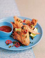 Crispy Spiced Chicken Wings