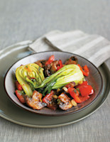 Vegetables with Sweet Chilli Sauce