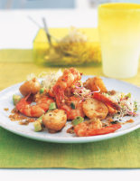 Cajun Potato & Prawn Salad
