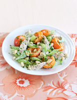 Chicken, Apricot & Almond Salad