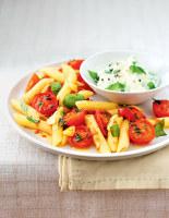 Roasted Tomato & Ricotta Pasta