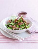 Duck & Soya Bean Salad