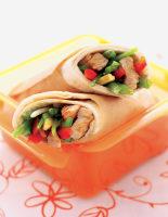 Chinese-Style Turkey Wraps