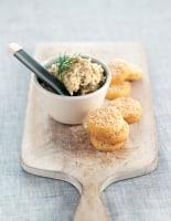 Trout Pâté & Sesame Biscuits