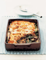 Mushroom & Spinach Lasagne