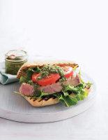 Tuna & Pesto Burgers