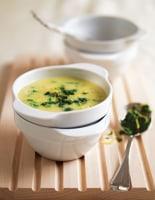 Courgette Soup with Gremolata