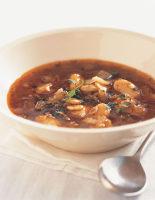 Bean & Sun-Dried Tomato Soup