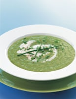 Summer Green Pea Soup