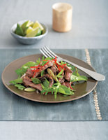 Sliced Steak with Hot & Sour Sauce