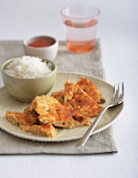 Thai Prawn Omelette