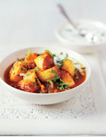Spiced Halibut Curry