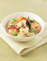 Malaysian Scallop & Prawn Curry