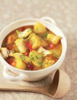 Yellow Cod & Potato Curry