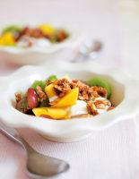 Maple Glazed Granola with Fruit