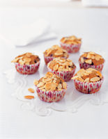 Blackcurrant & Almond Muffins