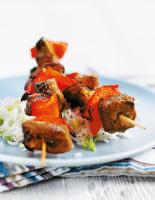 Pork Kebabs in Asian Marinade