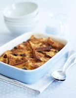Honeyed Bread & Butter Pudding