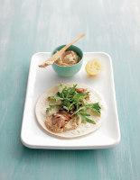 Chicken & Hummus Wraps