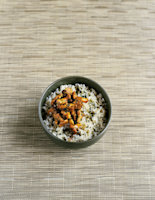 Pilaf Rice with Chanterelle Mushrooms