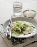 Thai Vegetable, Tofu & Rice Soup