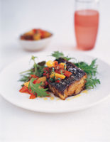 Blackened Cod with Citrus Salsa