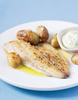 Bream with New Potatoes