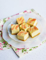 Coconut & Rosewater Slice