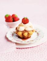 Strawberry Rose Shortcakes