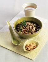 Black Bean Soup with Soba
