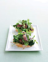 Seared Beef & Broccoli Bruschetta