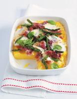 Polenta with Parma Ham & Cheese