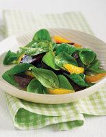 Beetroot, Spinach & Orange Salad