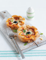 Pizza Puff Pies