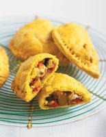 Caribbean Chicken Patties