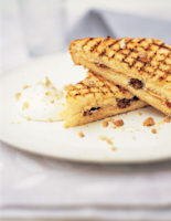 Chocolate, Date & Almond Panini