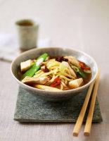 Chicken & Tofu Miso Noodles