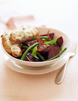 Roasted Beetroot & Bean Salad