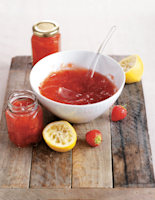 No-Cook Strawberry Conserve