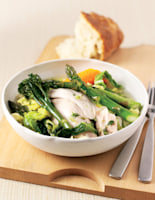 Chicken with Spring Vegetables