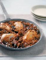 Halloumi & Aubergine Chicken