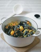 Mussel & Potato Hotpot