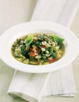 Pesto & Lemon Soup