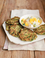 Spicy Courgette Fritters