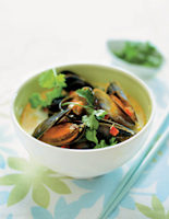 Thai Mussel Curry with Ginger